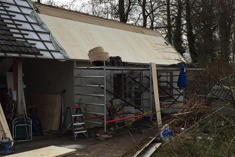 Dakrenovatie woning Soest Van Schaik Bouwbedrijf