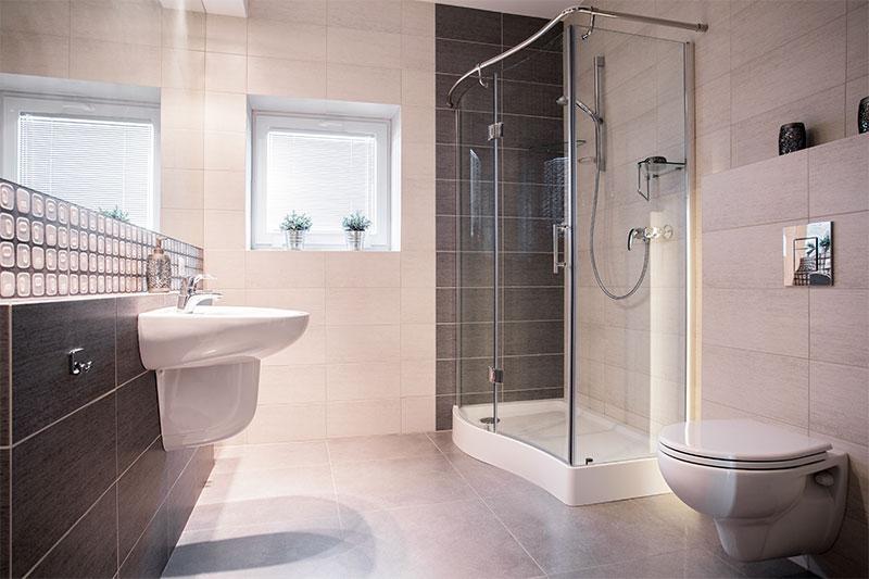Badkamer renovatie plaatsen bouwbedrijf Soest van Schaik